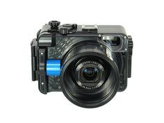 Recsea Japans housing for Canon G7X camera!  visit www.splashuwimaging.com for more information.