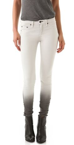 The Legging Jeans - Rag & Bone/JEAN. The complete reverse of the Pierre Balmains from a couple weeks ago!