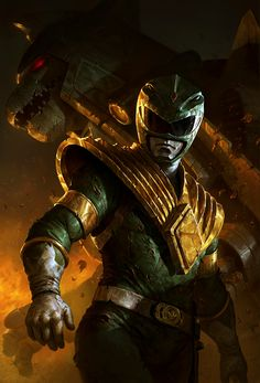 Green Ranger by Dave Rapoza -- Best. Ranger. Ever.