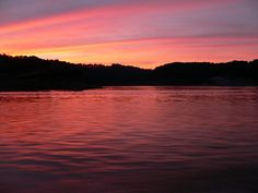 Lake Cumberland Sunset