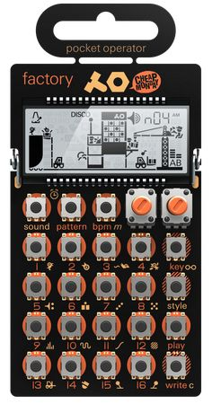 "Teenage Engineering/Cheap Monday ""Pocket Operator - Factory"" micro synthesizer"