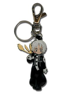 D.Gray-man PVC Keychain: SD Allen (GE4686)not clay, but want to try making it from clay