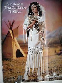 "Native American Spirit Dolls | ... -Drake Collectible Doll ""Mornining Bird Song"" Native American Bride"