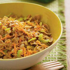 Sesame Bean-and-Pasta Salad  http://familyfun.go.com/recipes/sesame-bean-and-pasta-salad-922825/
