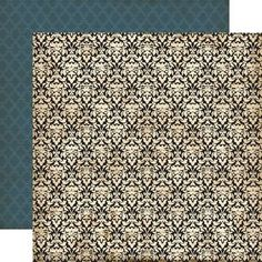 Echo Park - Times & Seasons - Fancy Damask 12X12 Inch Double-Sided Paper (Pack Of 10), $9.99