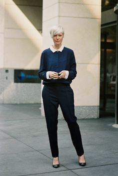 Kate looking absolutely fabulous in NYC. #KateLanphear #VanessaJackman