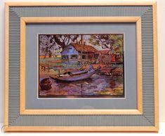 $25 2018 Lionel Barrymore Colored Laser Etching on Foil Point Pleasant | #1932962154 Vintage Art Prints, Artwork, Painting, Color, Work Of Art, Auguste Rodin Artwork, Painting Art, Colour, Artworks