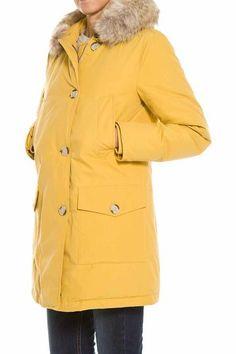 Woolrich Yellow Parka