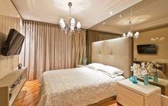 decoracao quarto casal glamour 330x210 Decoração de quarto para casal   fotos e modelos