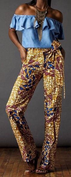 African Print Pants- The Jackson Trouser. Our newest outfitting obsession: The Jackson Trouser- Sleek, Chic with a straight leg. African fashion, Ankara, kitenge, African women dresses, African prints, African men's fashion, Nigerian style, Ghanaian fashion, fashion blogger (affiliate)
