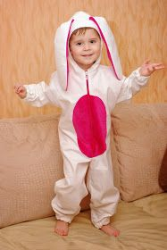 костюм зайчика, Новогодний костюм