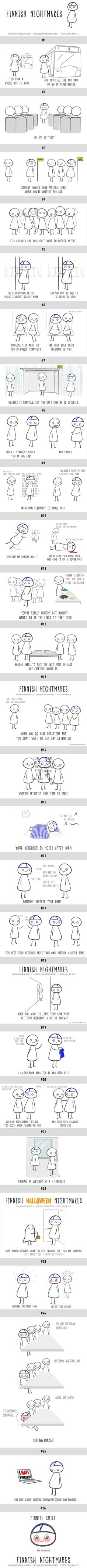 26 Comics Of Finnish Nightmares Even Non-Finns Can Relate To (By Karoliina Korhonen) This is so funny!<<I can relate to almost all of these Meanwhile In Finland, Finnish Language, My Roots, I Can Relate, Funny Facts, Best Funny Pictures, Happy Thoughts, Laugh Out Loud, True Stories
