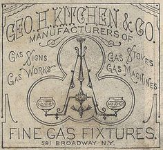 https://flic.kr/p/QPQz75 | Geo H Kitchen & Co late 1870's