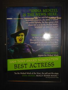 Idina Menzel, the First Lady of Broadway.