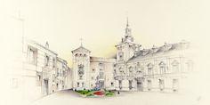 Madrid - Cruz Illustration