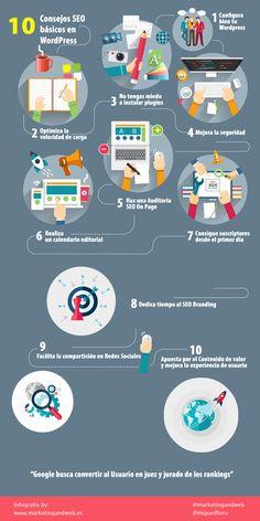 consejos seo wordpress 2016 infografia