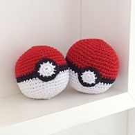 Receita Pokebola • Amigurumi Crochê Pokemon