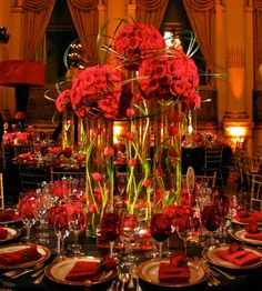 Red! Rich and luxurious