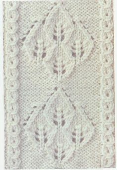 Lace Knitting Stitches - LOTS of different ones on this site! All shown with charts