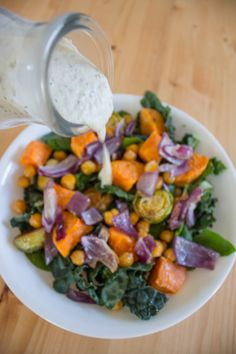 Dairy-Free Ranch Dressing Recipe + Salad Inspiration