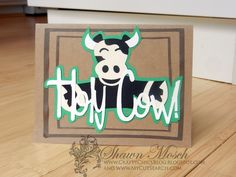 Crafty Chic's: Holy Cow!