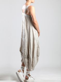 LINEN JUMPSUIT - JACKETS, JUMPSUITS, DRESSES, TROUSERS, SKIRTS, JERSEY, KNITWEAR, ACCESORIES - Woman -