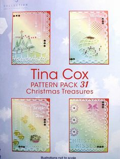 PATTERN PACK 31 CHRISTMAS TREASURES BY TINA COX
