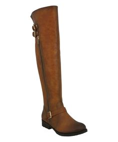 Camel Penny Over the Knee Boots