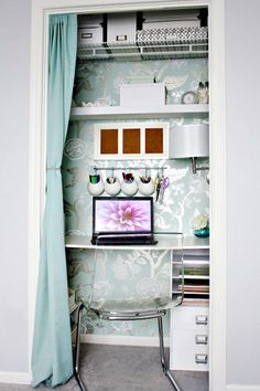 Next project Closet office and Bedrooms