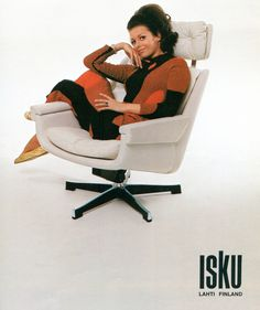 Isku furniture, 1970.