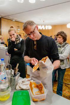 Warsztaty kulinarne - francuskie makaroniki z mistrzem Pascalem Chevriaux Fot. kuchennewariacje.pl