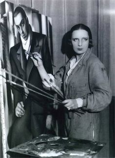 Tamara de Lempicka - love your art!
