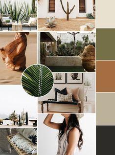 May Mood Board - Kara Layne & Co. #moodboard #mood #color #inspiration #green #brown #beach #moodboarddesign