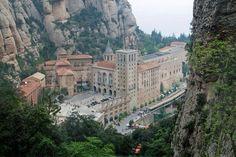 Montserrat Monastery. Catalonia, Spain