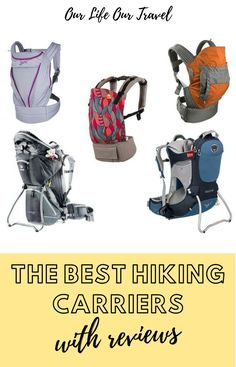 The Best Hiking Carriers for Toddlers and Babies The best toddler carriers for hiking | Baby carriers for travel | Hiking carrier for kids | Cheap Hiking Carrier Reviews | Backpack carrier for kids | Osprey hiking carrier review | Deuter toddler carrier review | Thule hiking carrier review |Phil Adventure Activities, Travel Activities, Hiking Baby Carrier, Budget Travel, Travel Tips, Winter Outdoor Activities, Phil And Teds, Ergonomic Baby Carrier, Singapore Travel
