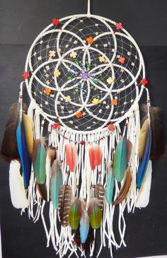 Seed Of Life Sacred Chakra Dreamcatcher