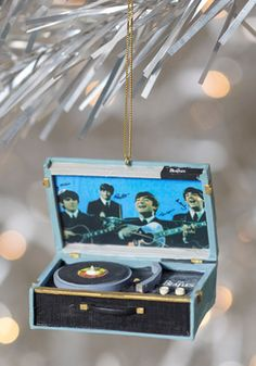 For the Record Ornament, #ModCloth I NEED THIS!