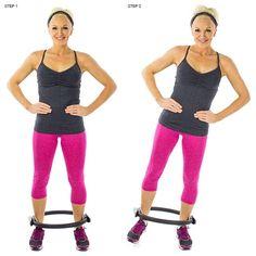 Blast Thigh Jiggle: 9 Pilates Ring Exercises We Swear By Pilates Ring Exercises, Pilates Workout Routine, Pilates Barre, Thigh Exercises, Butt Workout, Pop Pilates, Pilates Chair, Thigh Workouts, Workout Exercises
