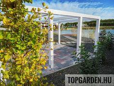 * Csináld magad kertépítés *: Kertépítés ötletek Pergola, Arch, Outdoor Structures, Garden, Modern, Instagram, Longbow, Garten, Trendy Tree