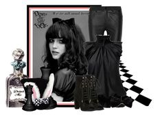 """""""Alice"""" by lulurose98 ❤ liked on Polyvore featuring McQ by Alexander McQueen and Kendall + Kylie"""