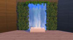 Mod The Sims - Waterfall Wall Sticker