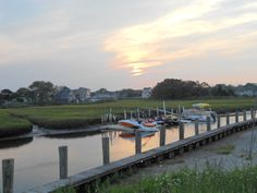 Sunset in Old Saybrook