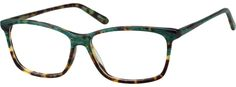 65bcfbacdc12 Green Rectangle Glasses  4417324