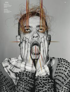 DAZED & CONFUSED - IT CAME FROM THE SKY - RICHARD BURBRIDGE - ARTWORK BY MAURIZIO ANZERI - JUNE 2011