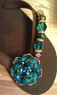 Tempting turquoise  By Flipinista, Your BFF (best flip lfop)  Registered Trademark