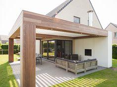 Lamellendak of verandadaken. Passend bij elke architectuurstijl, sfeer en smaak. Ook in verbouwsituaties.