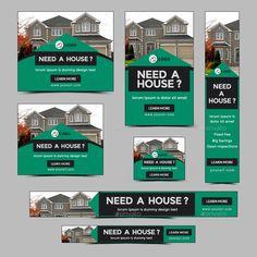 Real Estate Banner, Real Estate One, Real Estate Business, Pop Up Banner, Ads Banner, Banner Ideas, Web Design, Flyer Design, Logo Design