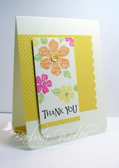 The Buzz: His & Hers ~ Thank You Cards