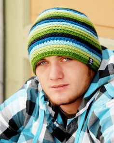 CROCHET HAT PATTERN Strata Beanie by PlayinHookyDesigns on Etsy