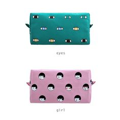 Big Box Pouch by Kiitos Life // A perfect box pouch for your cosmetics! Size: 18cm X 10cm X 7cm